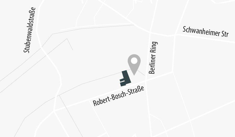 Anfahrt Bensheim