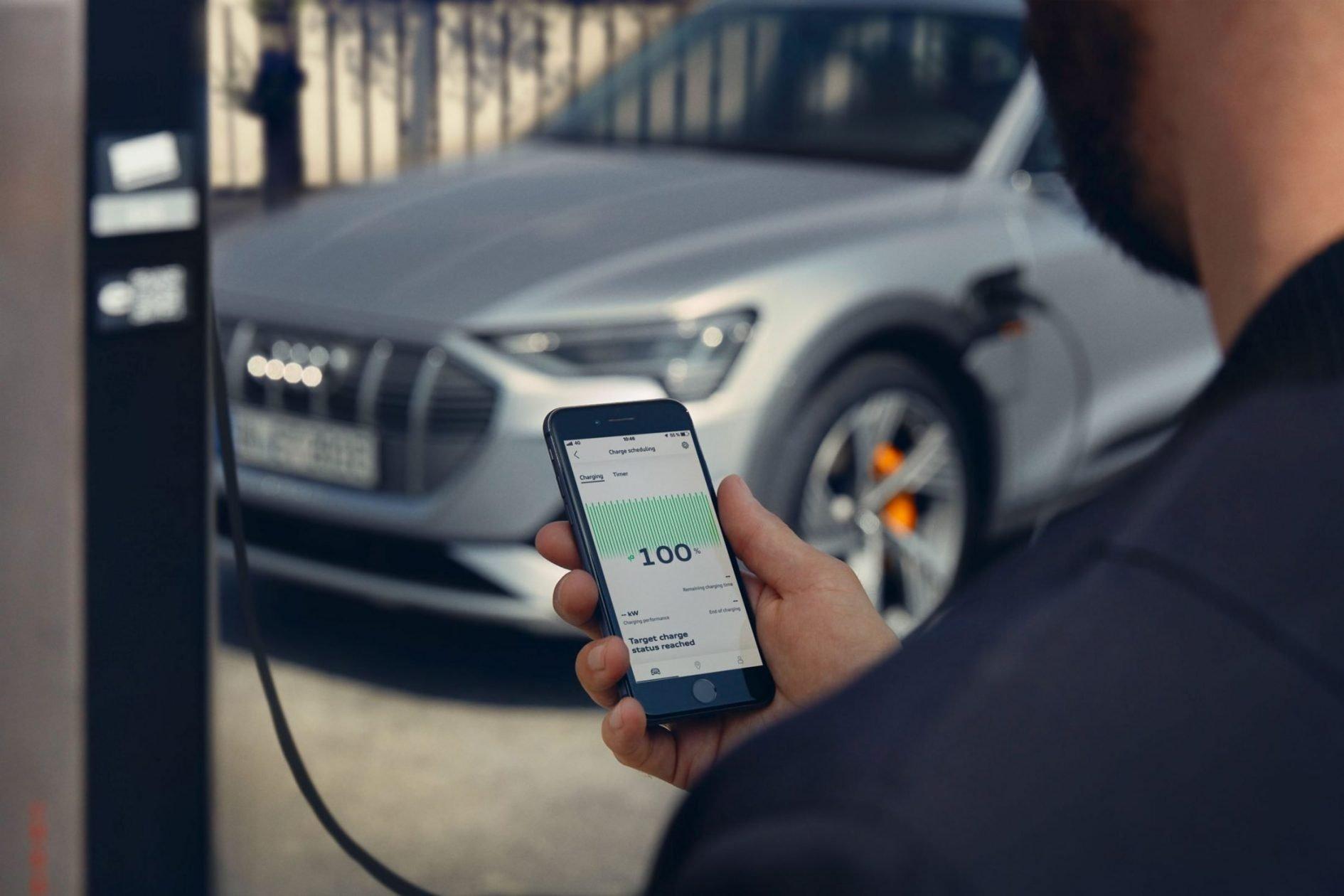 Audi Etron Sportback Laden