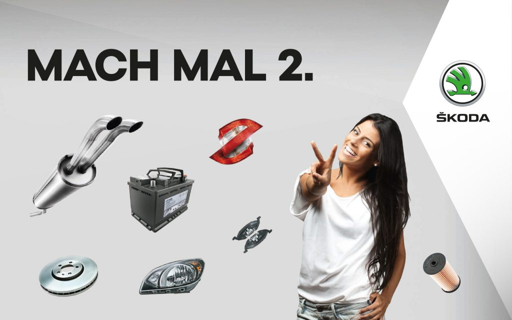 SKODA - Mach mal 2 Aktionsgrafik