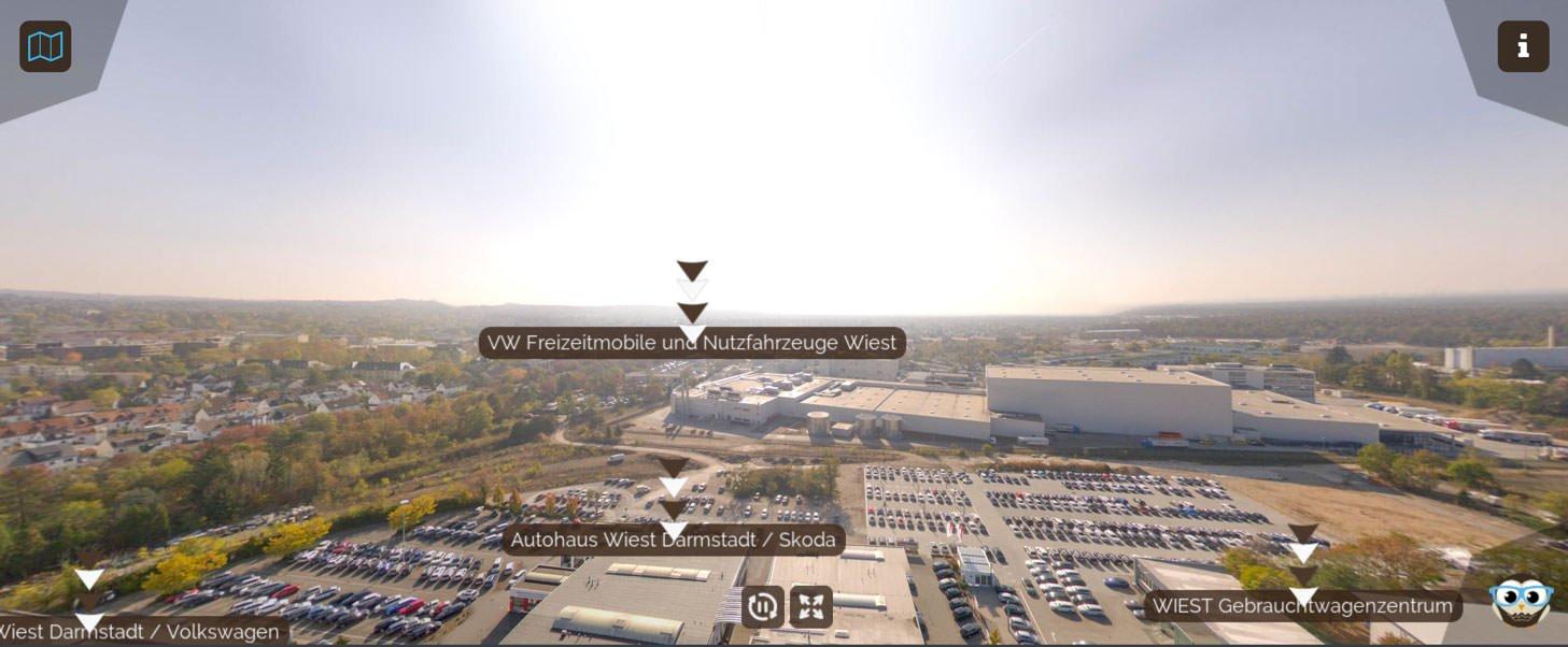 Watch My City: 3D virtueller Rundgang
